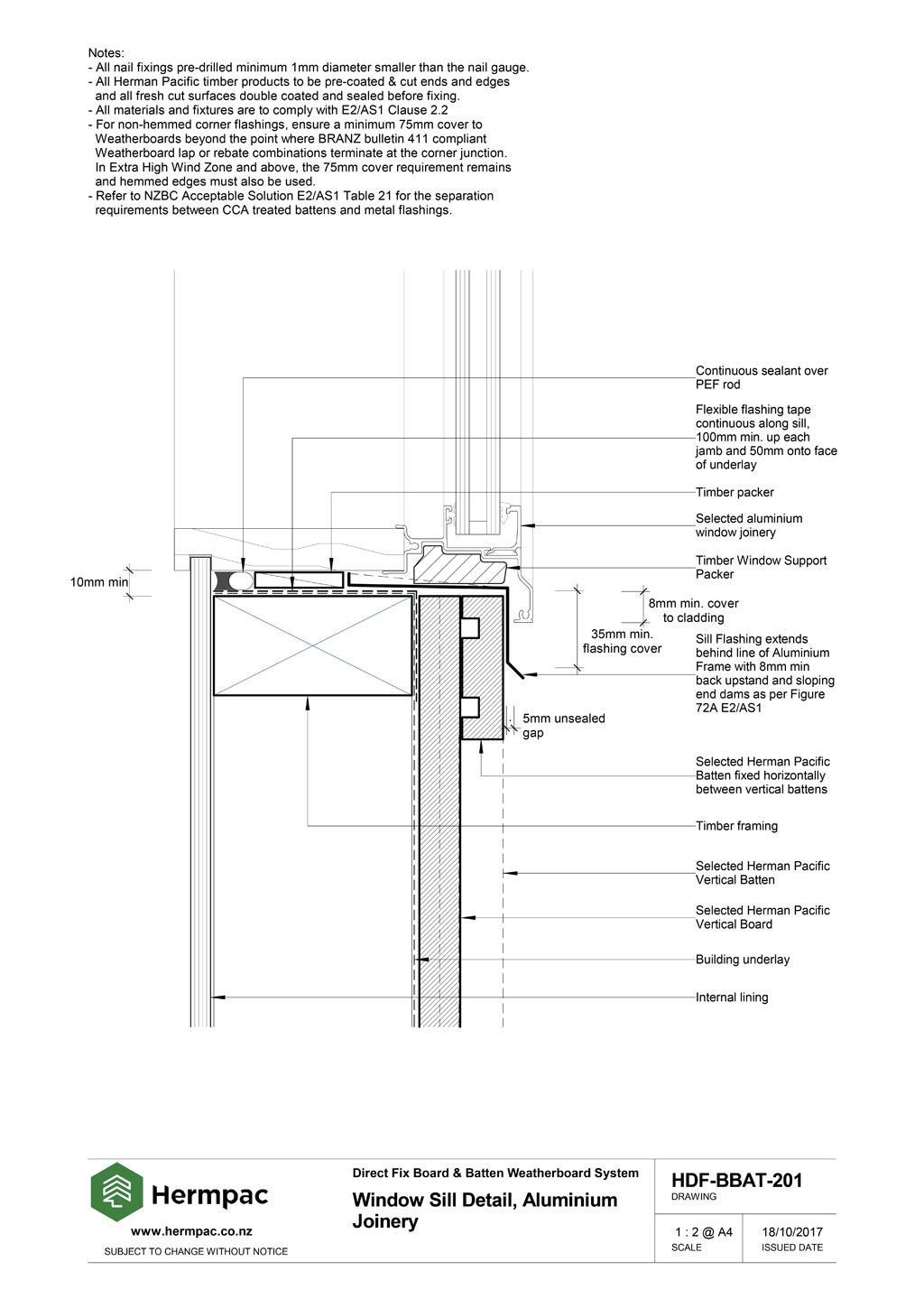 Hermpac Limited Construction Drawings
